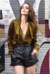Emily DiDonato - Set of a Photoshoot in New York