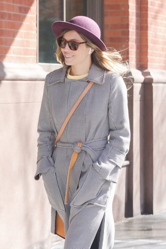 Jessica Biel in New York City
