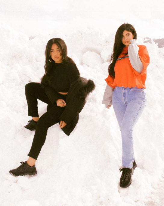 Kylie Jenner And Jordyn Woods - March 2018 Instagram Pictures