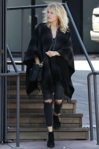 Malin Akerman - out and about in Beverly Hills