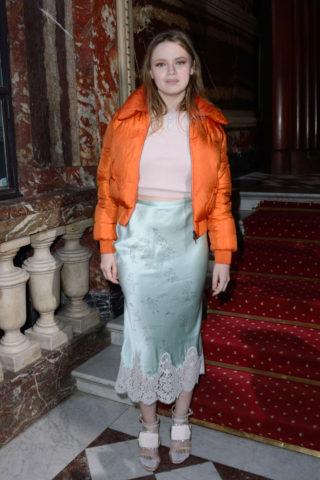 Sara Forestier - John Galliano Fashion Show in Paris
