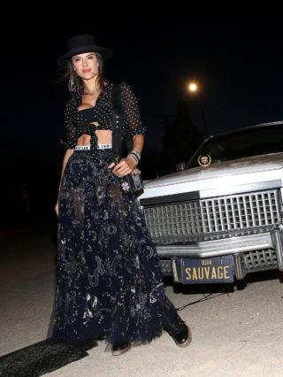Alessandra Ambrosio - Dior Sauvage Party in Pioneertown