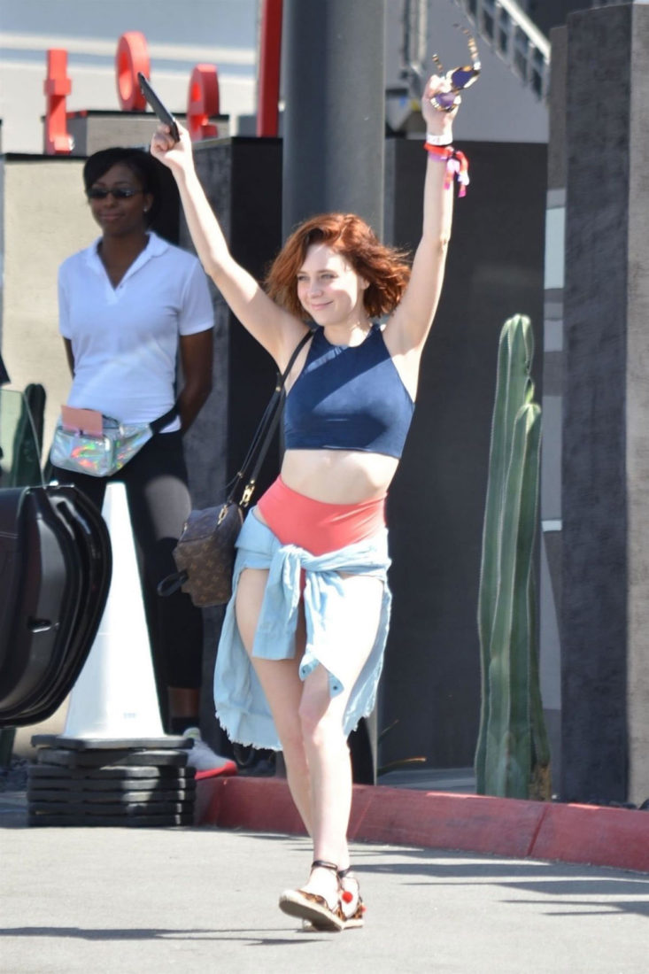 Alessandra Torresani at Coachella Valley Music and Arts Festival