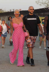Amber Rose at Coachella Valley Music and Arts Festival