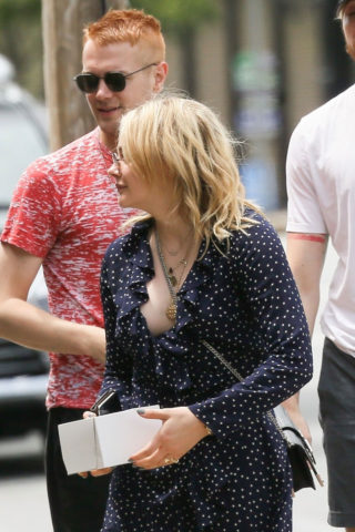 Chloë Moretz out in Rome