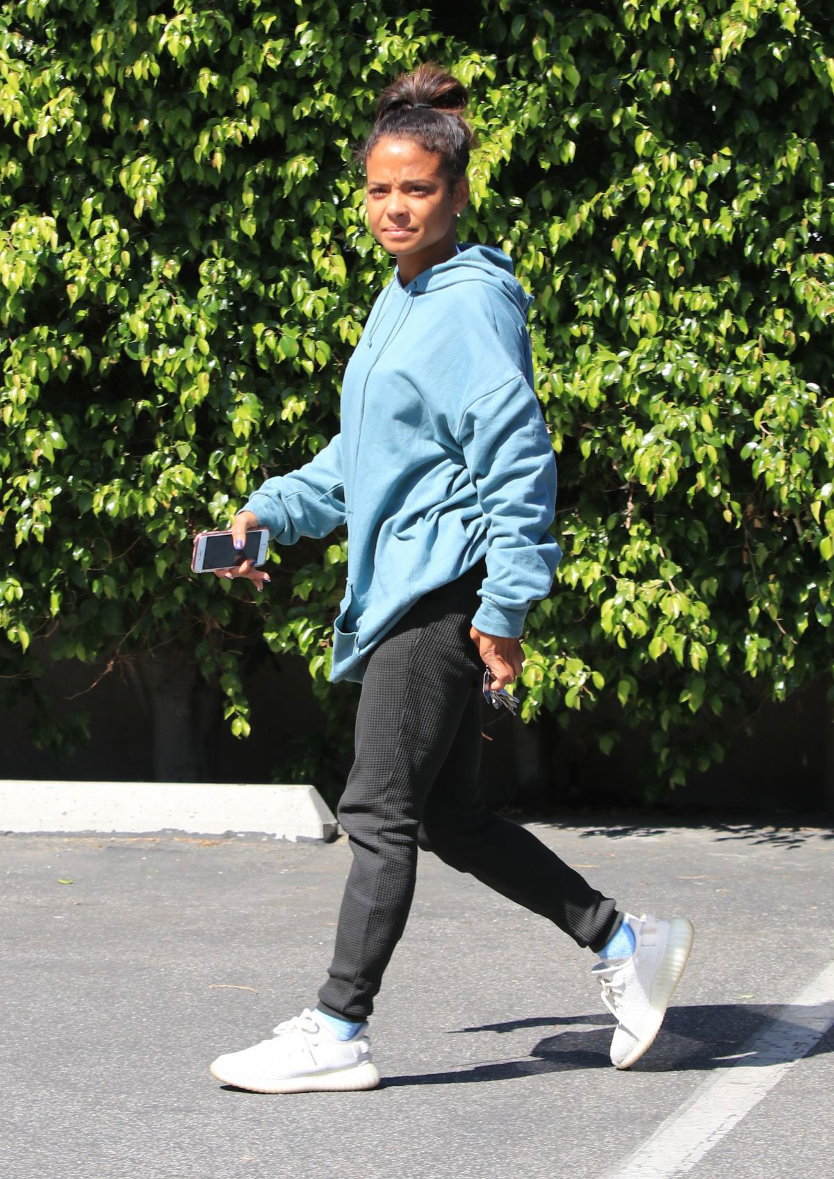 Christina milian street style studio city new images