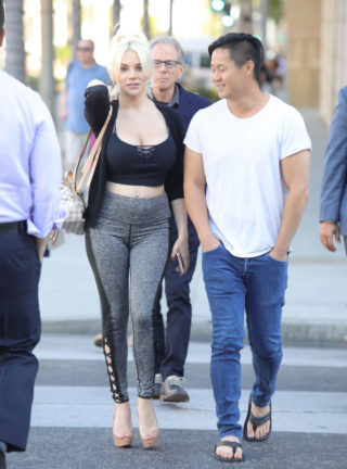 Courtney Stodden Out Shopping in Beverly Hills