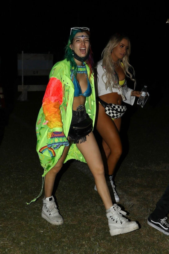 Dani Thorne at Coachella Valley Music and Arts Festival