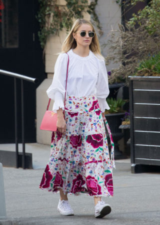 Dianna Agron - Out in New York