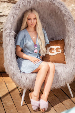 Dove Cameron – Ugg Collective Hosts Festival Kick-Off Brunch at Coachella