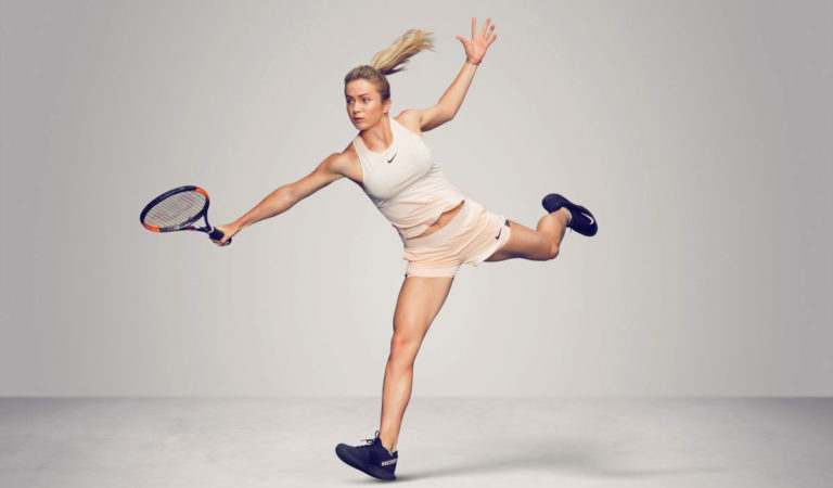 Celebrity Sports – Elina Svitolina at WTA's Iconic Photoshoot in California, March 2018