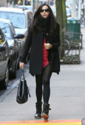 Famke Janssen - Out in New York