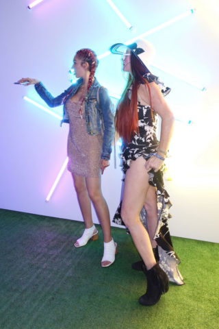 Farrah Abraham and Phoebe Price at Coachella Valley Music and Arts Festival