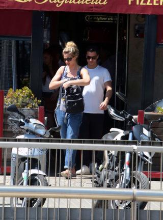 Gemma Atkinson and boyfriend Gorka Marquez out in Barcelona