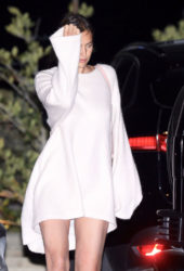 Irina Shayk Night Out in Malibu