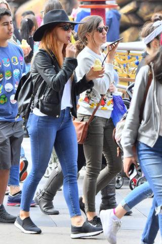 Julianne Hough in Tight Jeans – Disneyland