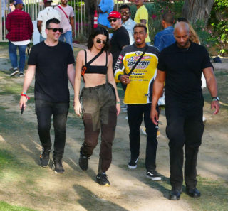 Kendall Jenner at Coachella Valley Music and Arts Festival