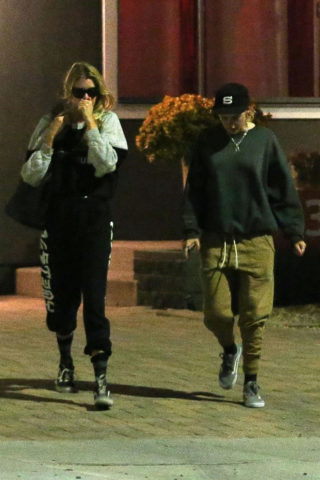Kristen Stewart and Stella Maxwell Leaves Shape House in Los Angeles