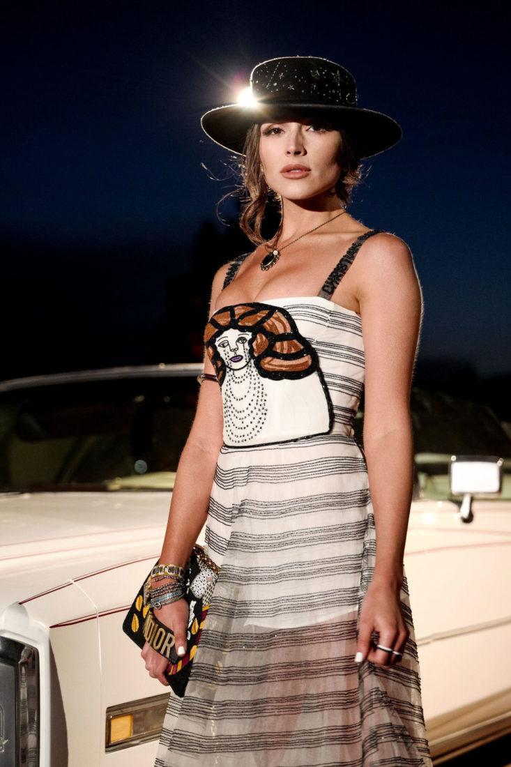 Olivia Culpo - Dior Sauvage Party in Pioneertown