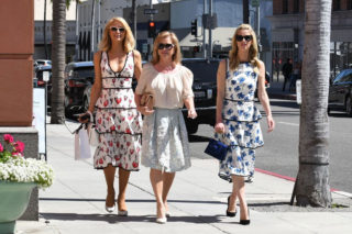 Paris, Nicky and Kathy Hilton – Out in Beverly Hills