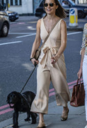 Pippa Middleton Out with Her Dogs in London