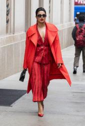 Priyanka Chopra out in New York