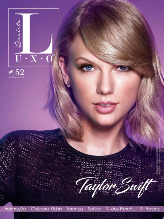 Taylor Swift in Revista Luxo (April/May 2018)
