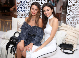 Victoria Justice and Madison Reed at 4th Annual Zoeasis at Coachella in Palm Springs