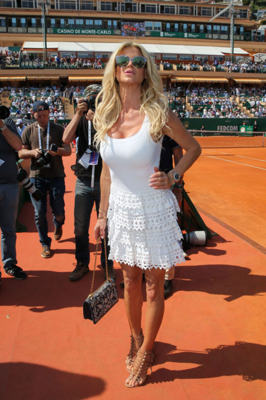 Victoria Silvstedt at Monte Carlo Rolex Masters Semi-finals