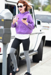 Alessandra Torresani Out in Los Angeles