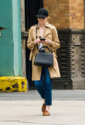 Emma Stone Out and About in New York