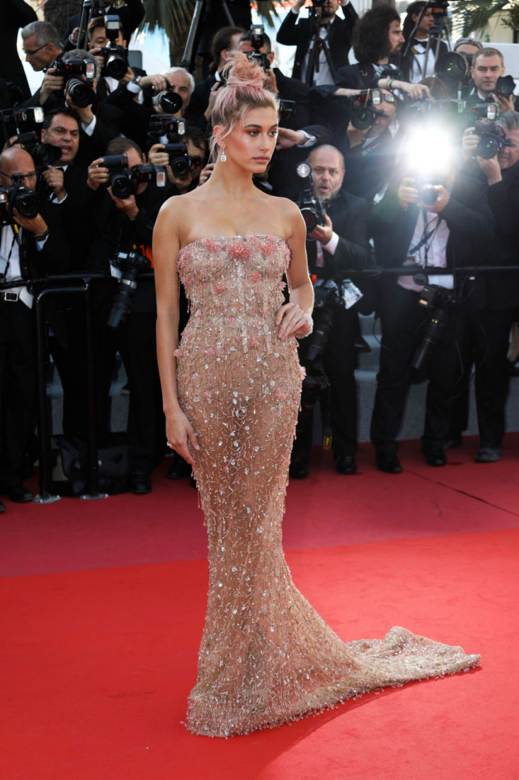 Red Carpet Hailey Baldwin At Cannes Film Festival 2018