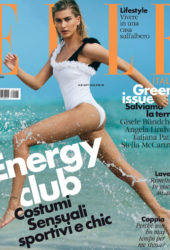 Hailey Baldwin for Elle Magazine (Italy June 2018)