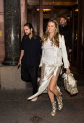 Heidi Klum Out and About in Berlin