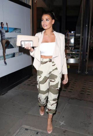 Jessica Wright at Libertine Nightclub in London