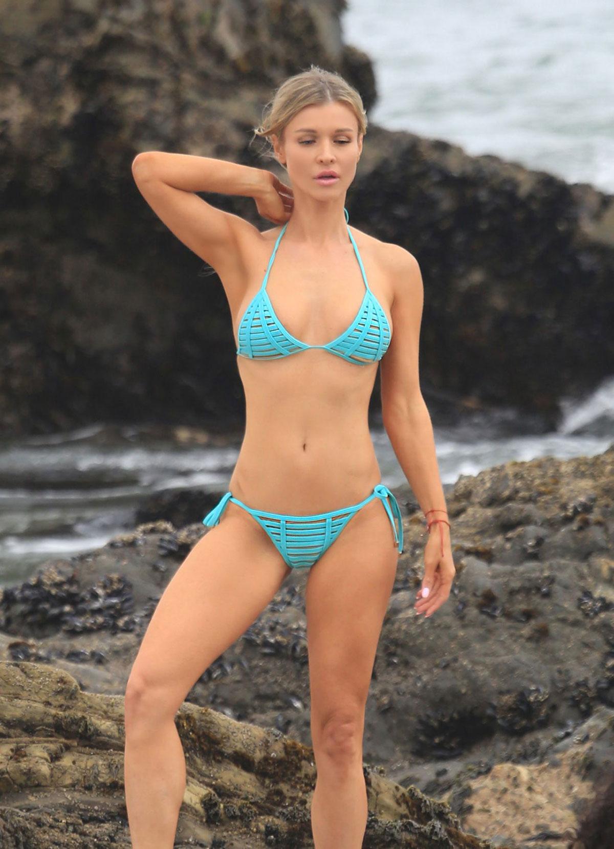 Joanna Krupa Bikini Photoshoot On Mothers Day In Malibu