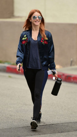 Julianne Hough Heading to a Gym in Los Angeles