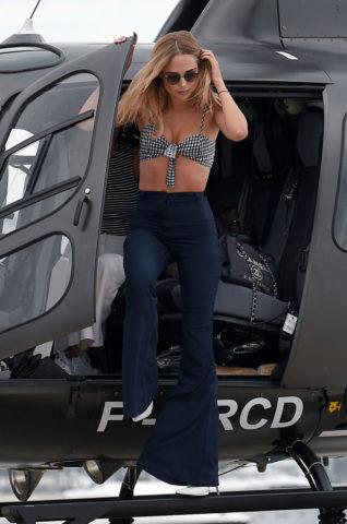 Kimberley Garner Arrives at Cannes Film Festival