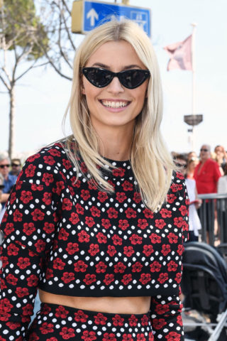 Lena Gercke Out in Cannes