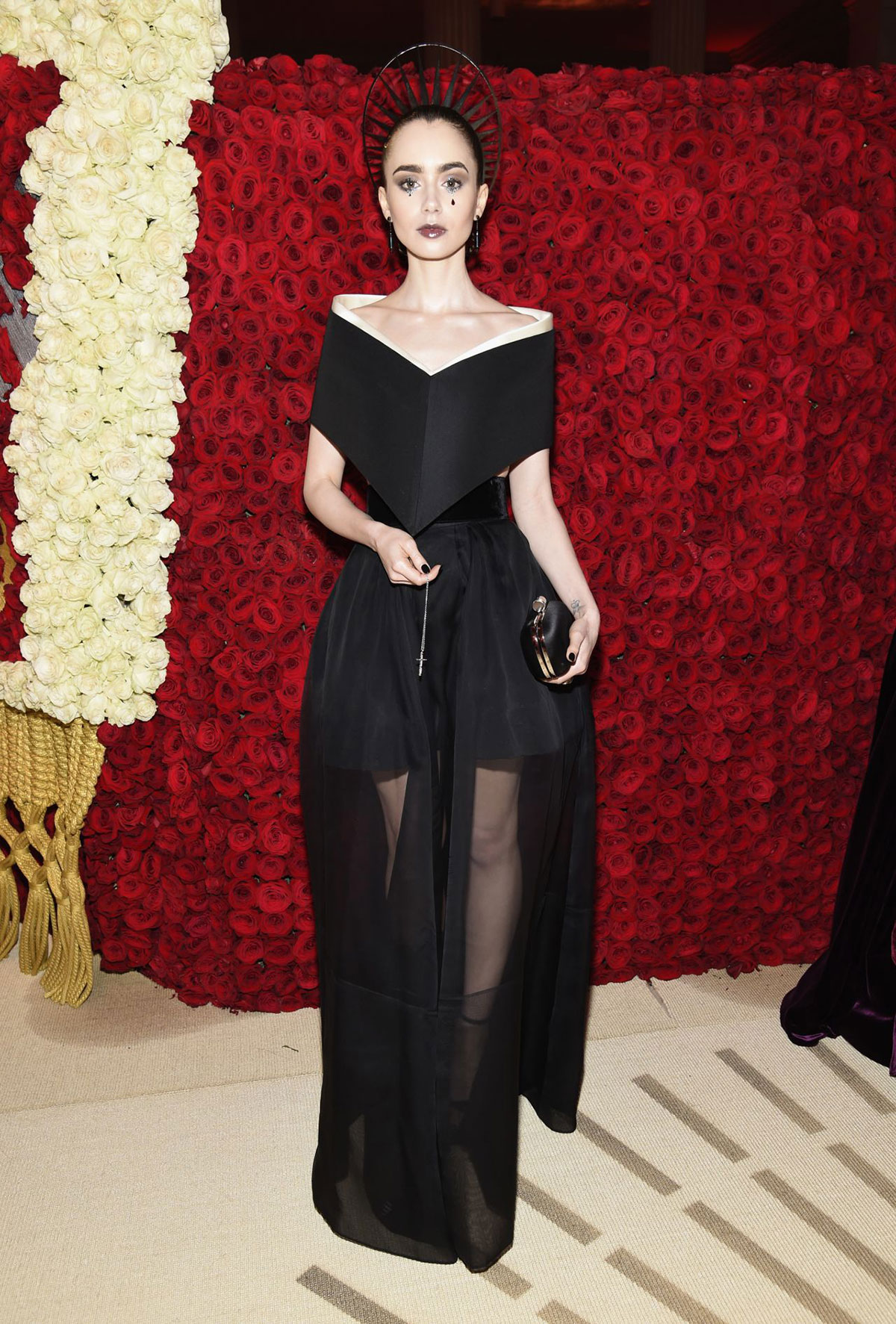 Celebrity Fashion Lily Collins At Met Gala 2018 Justfabzz