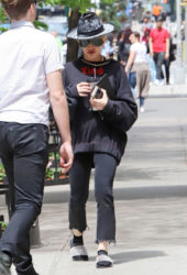 Madonna Out in New York
