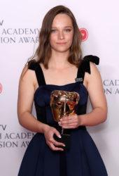 Molly Windsor at BAFTA TV Awards 2018 in London