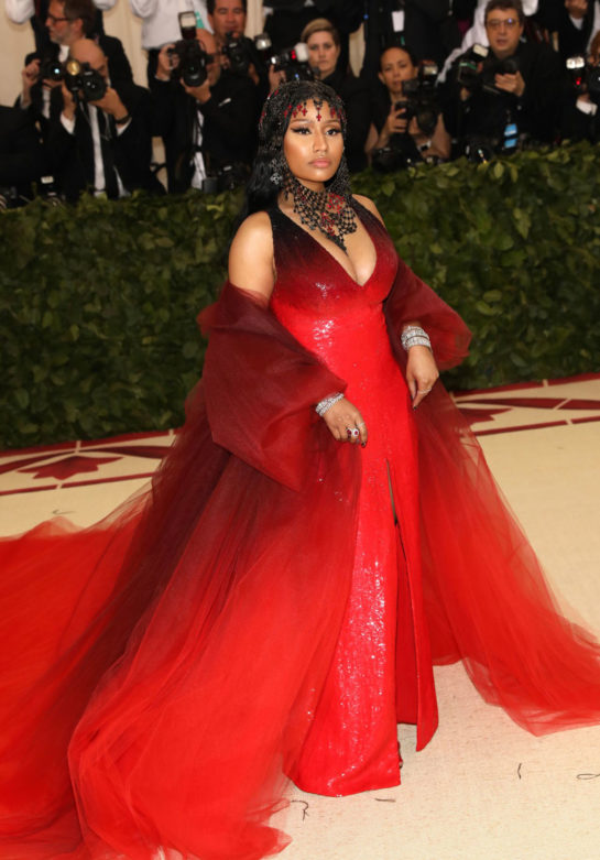 Nicki Minaj at MET Gala 2018