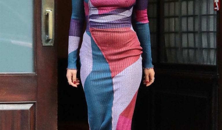 Street Style – Olivia Munn Leaving Her Hotel in New York City