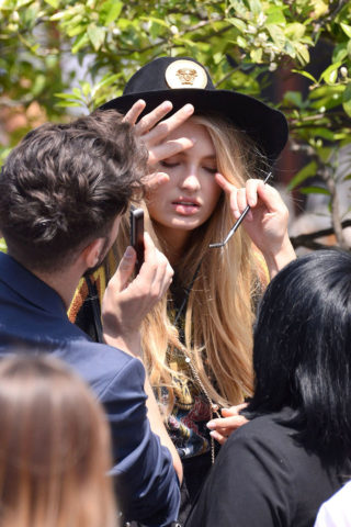 Romee Strijd - Out in Cannes