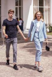 Romee Strijd With Her Boyfriend Laurens in Cannes