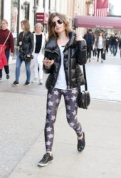 Sami Gayle Out and About in New York
