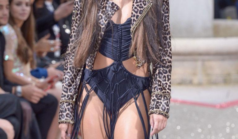Celebrity Fashion – Sara Sampaio at Philipp Plein Resort Runway Show in Cannes