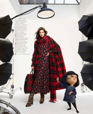 Sara Sampaio in Harper's Bazaar Magazine (June/July 2018)
