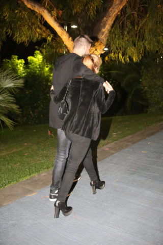 Shakira and Gerard Pique Out to dinner in Barcelona